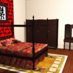 Phòng ngủ không nên treo tranh chữ